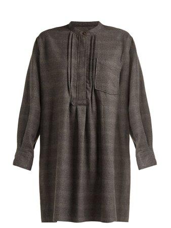 Dancy checked cotton dress | Isabel Marant Étoile | MATCHESFASHION.COM