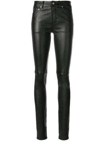 Saint Laurent Skinny Leather Trousers