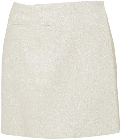 Mach & Mach Glitter Mini Skirt