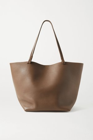 Light brown Park 3 medium leather tote   The Row   NET-A-PORTER