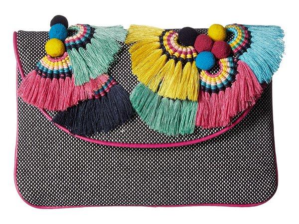 Vince Camuto - Witan Clutch (Black/White) Clutch Handbags
