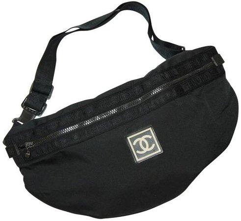 chanel-oversized-xl-fanny-pack-sling-gym-sport-black-nylon-cross-body-bag-0-2-540-540.jpg (540×495)