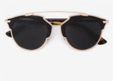 Gold/Black Sunglasses