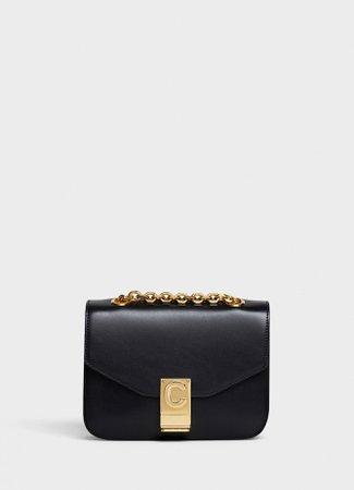 Small C Bag in shiny calfskin | CELINE Official Website