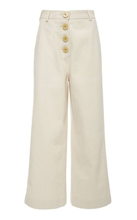 Bouguessa High Waisted Cropped Culottes Size: XS