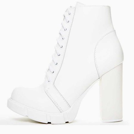 Jeffrey Campbell 'Solar': white combat boot