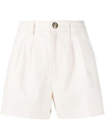 Etro high-waisted Pleated Shorts - Farfetch