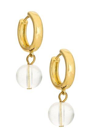 Casa Clara Hendrix Earrings in Gold | REVOLVE