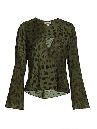 L'Agence Mei Bell-Sleeve Blouse | SaksFifthAvenue