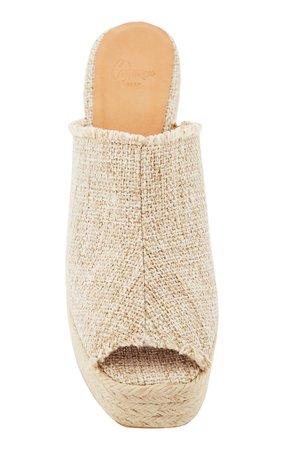 Fufu Platform Sandals by Castañer   Moda Operandi