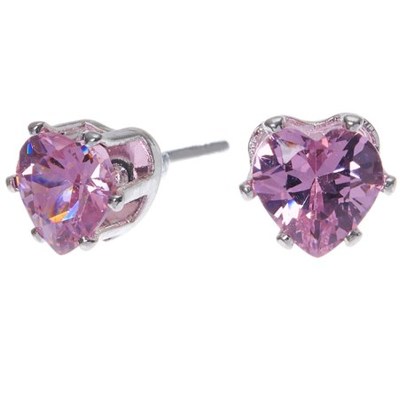 purple lilac hearts earrings - Google Search
