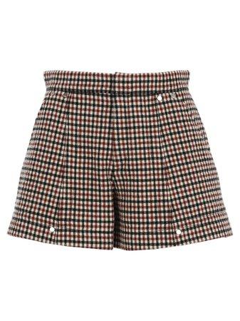 Chloe Check Shorts