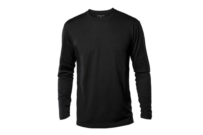 Black Long Sleeve Mens Shirt