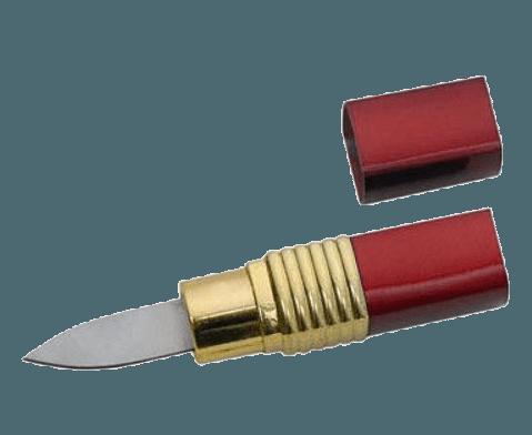 lipstick knife weapon