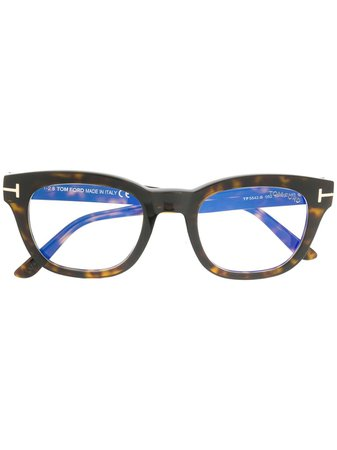 Tom Ford Eyewear blue-block Soft Square Opticals - Farfetch