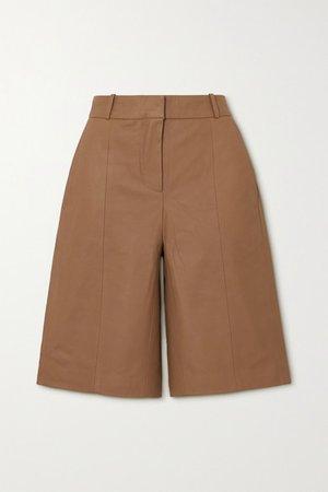 Kiltan Leather Shorts
