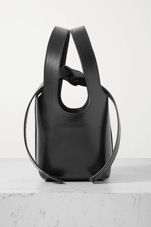 Black Bento leather tote | ioannes | NET-A-PORTER