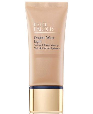 3 Foundation Estée Lauder Double Wear Light Soft Matte Hydra Makeup, 1-oz. & Reviews - Foundation - Beauty - Macy's