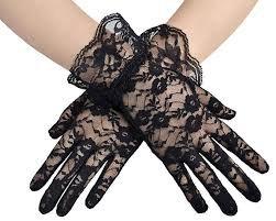 see through black gloves - Google Search