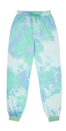 Turquoise tie dye set