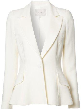 Carolina Herrera, One Button Tuxedo Blazer