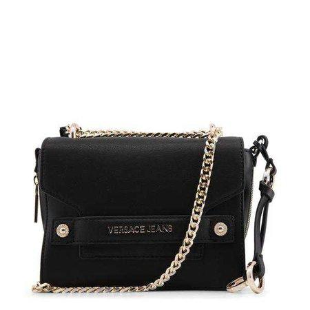 Versace Jeans Black Shoulder Bag