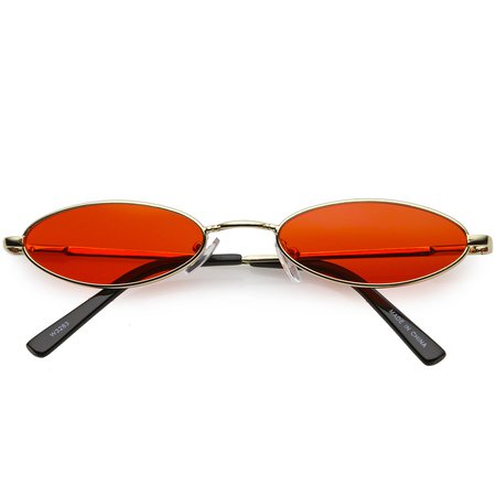 small red glasses