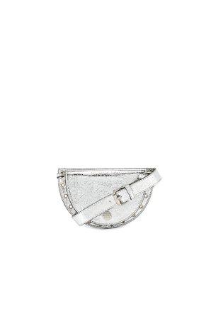 Kriss Metallic Belt Bag