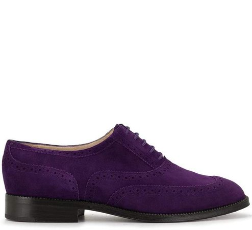 Pre-Owned CC textured brogues