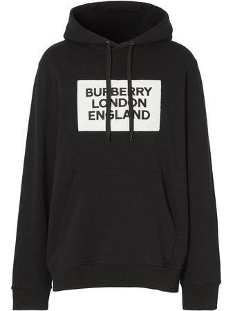 Burberry Logo Appliqué Hoodie Ss20 | Farfetch.com