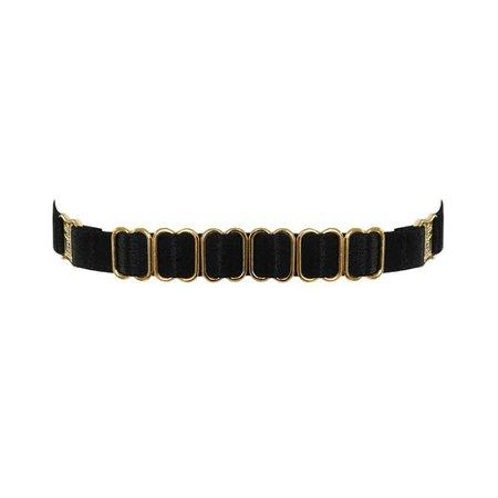 Amaya Strap Collar – Bordelle: Luxury Lingerie, Bodywear, Swimwear and Accessories | Designer Bondage Inspired Lingerie