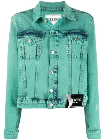 Iceberg Bleached Denim Jacket - Farfetch