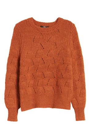 Only Lucy Pointelle Sweater   Nordstrom