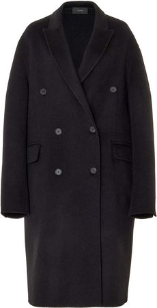 Joseph Carles Double Breasted Wool-Cashmere Coat