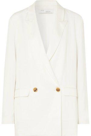 IRO | Caring oversized crepe blazer | NET-A-PORTER.COM