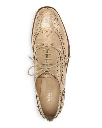 Lyst - Botkier Women's Callista Metallic Wingtip Oxford Loafers in Metallic