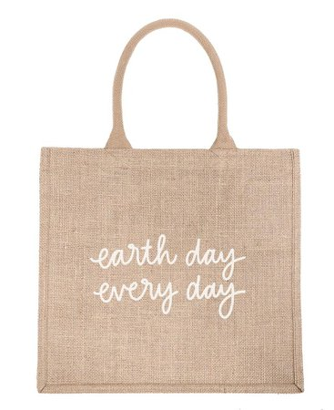Reusable Shopping Bag - Earth Day Every Day | The Little Market
