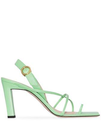 Wandler Elza 85mm Sandals - Farfetch