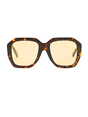 square 70's glasses oversized