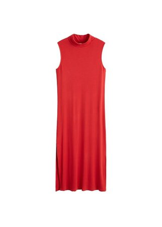 MANGO Turtle neck dress
