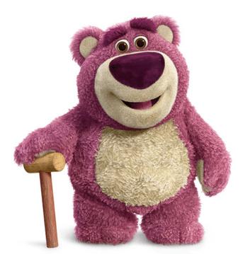 Lots 'O' Hugging Bear (Lotso) from Toy Story 3 Disney/Pixar