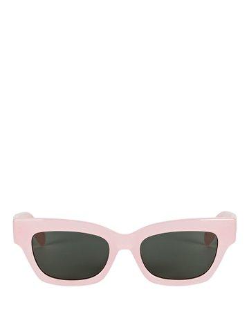 Le Specs Wategos Rectangular Sunglasses | INTERMIX®