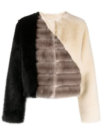Givenchy Panelled faux-fur Jacket - Farfetch