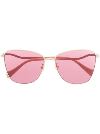 Gucci Eyewear oversize-frame tinted sunglasses