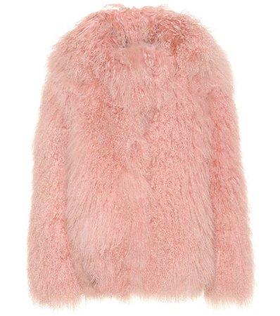 Exclusive to Mytheresa – Heart fur jacket