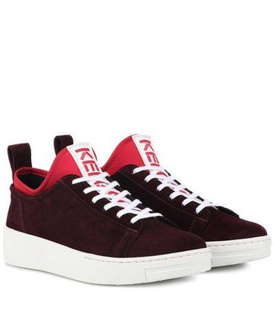 K-City suede sneakers