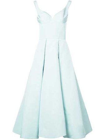 Christian Siriano Flared Gown $1,895 - Buy Online SS18 - Quick Shipping, Price