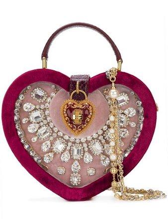 Dolce & Gabbana My Heart shoulder bag $3,502 - Shop AW18 Online - Fast Delivery, Price