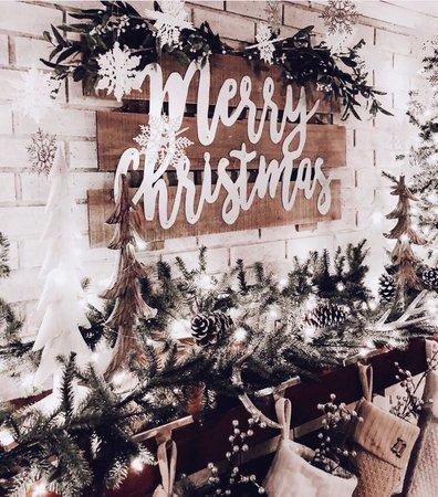 Christmas aesthetic