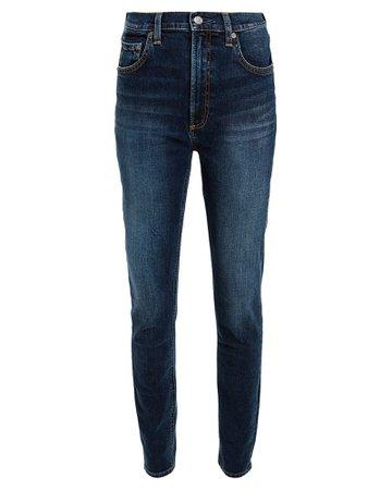 Boyish Jeans   The Donny High-Rise Skinny Jeans   INTERMIX®